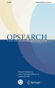 OPSEARCH||Journal of the Operational Research Society of India