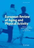 European Review of||Aging and Physical Activity