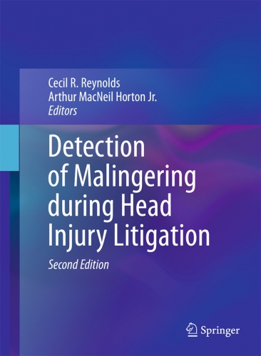 Detection of Malingering during Head Injury Litigation