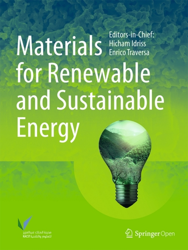 Materials for Renewable and Sustainable Energy
