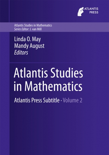 Atlantis Studies in Mathematics