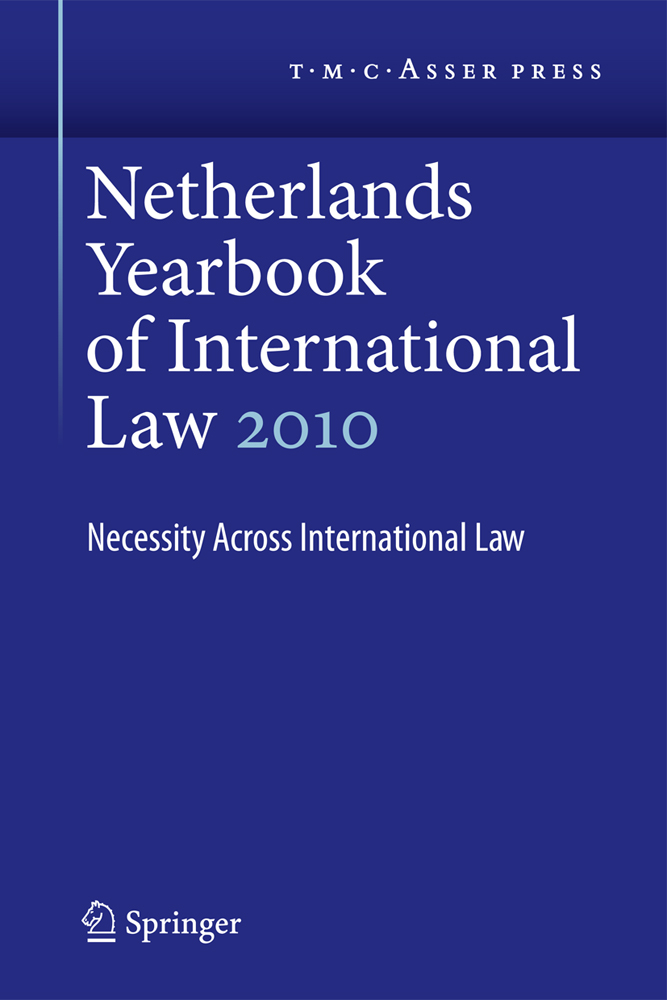 Netherlands Yearbook of International Law 2010