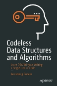 Codeless Data Structures and Algorithms