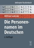 Die Personennamen||im Deutschen