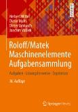 Roloff/Matek||Maschinenelemente||Aufgabensammlung