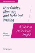 User Guides, Manuals ||and Technical Writing