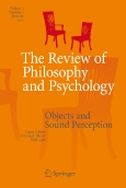 The Review of ||Philosophy and Psychology