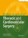 Indian Journal of ||Thoracic and Cardiovascular Surgery