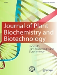 Journal of ||Plant Biochemistry and Biotechnology