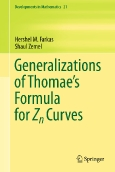 Generalizations of Thomae´s Formula for Zn Curves